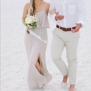 Mumu bridesmaid Caitlin dress